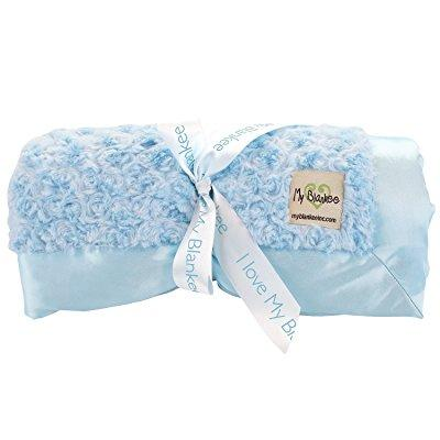 My Blankee snail luxe king blanket with flat satin border...