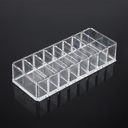Ejoyous 8 Grid Transparent Acrylic Larger Compact Organizer Power Eyebrow Powder Holder Store Box , Larger Compact Organizer, Powder Holder - image 6 of 6