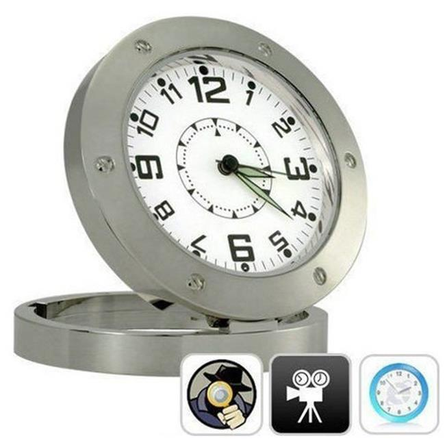 ANK Electronics A20405 Analog Clock With Hidden Camera