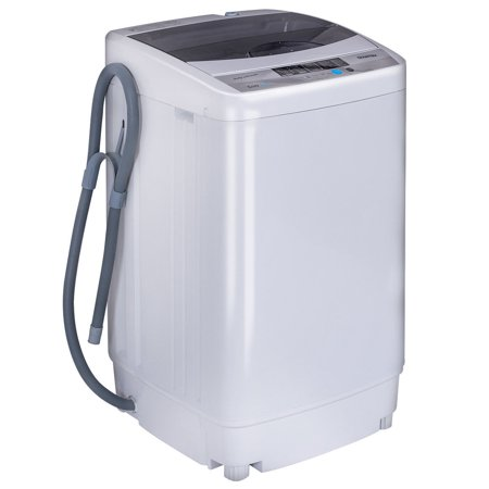 Costway Portable Washing Machine Spin Compact Washer 1.6 ...