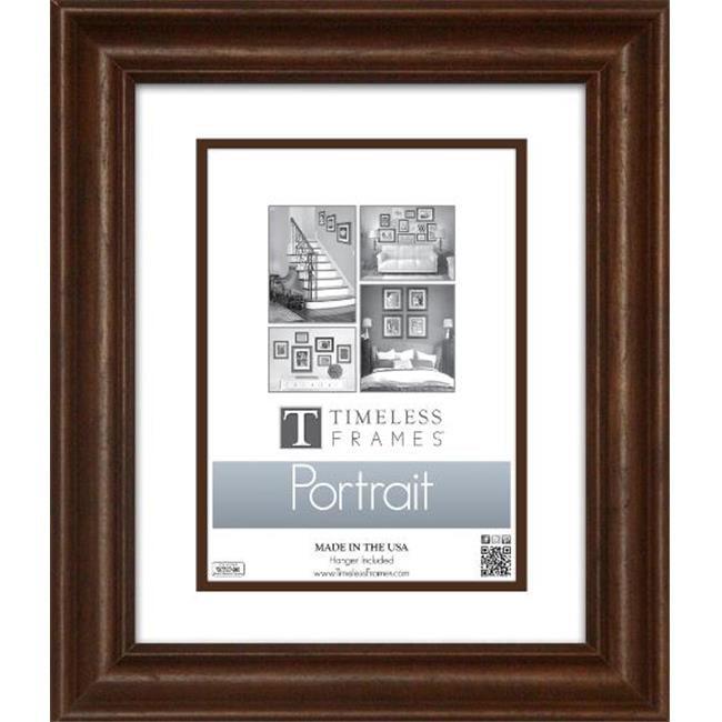 Timeless Frames 45146 Lauren Portrait Walnut Wall Frame, 11 x 14 in. - image 1 de 1