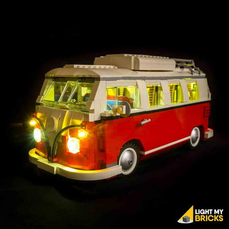 - LIGHTING KIT FOR VW Camper Lighting Kit for  Set # 10220 (BUILDING SET NO INCLUDED) by Light My Bricks