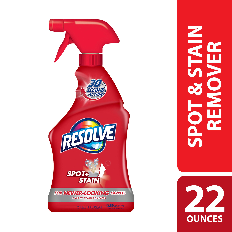 (2 pack) Resolve Carpet Cleaner Spray Spot & Stain Remover, 22oz