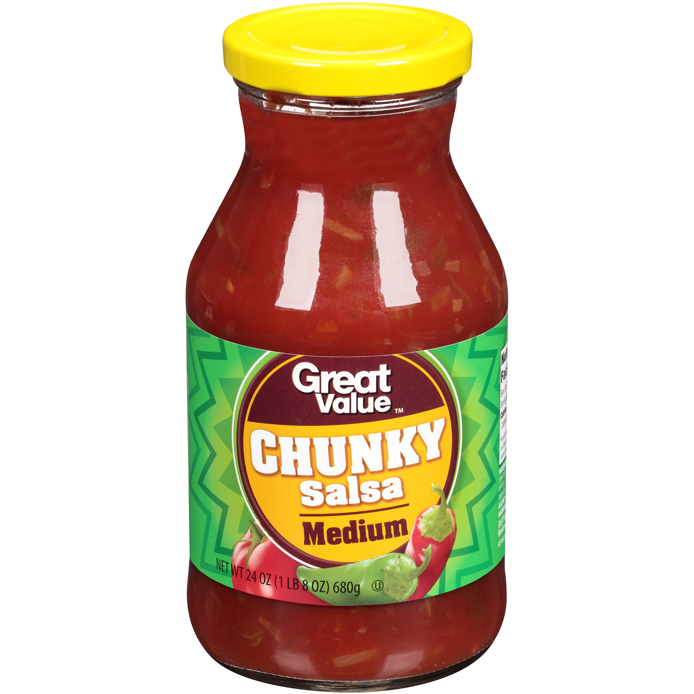 Great Value�� Medium Chunky Salsa 24 oz. Jar