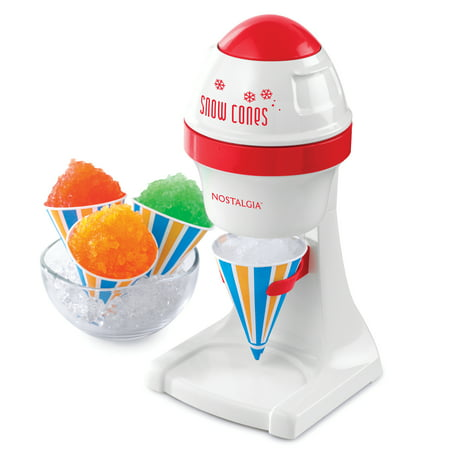 Nostalgia ISM1RD Electric Shaved Ice & Snow Cone Maker (A Snow Cone Machine)