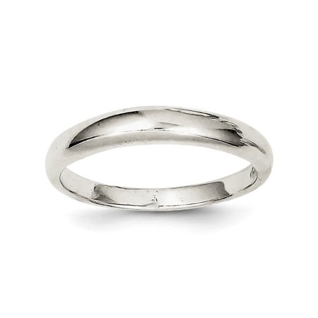 925 Sterling Silver Stackable Band Size-8