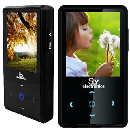 Sly Electronics 4 GB Video MP3 Player with 2_Inch Touchscreen, FM Radio, and Voice Recorder (American Recorder Gig Box)