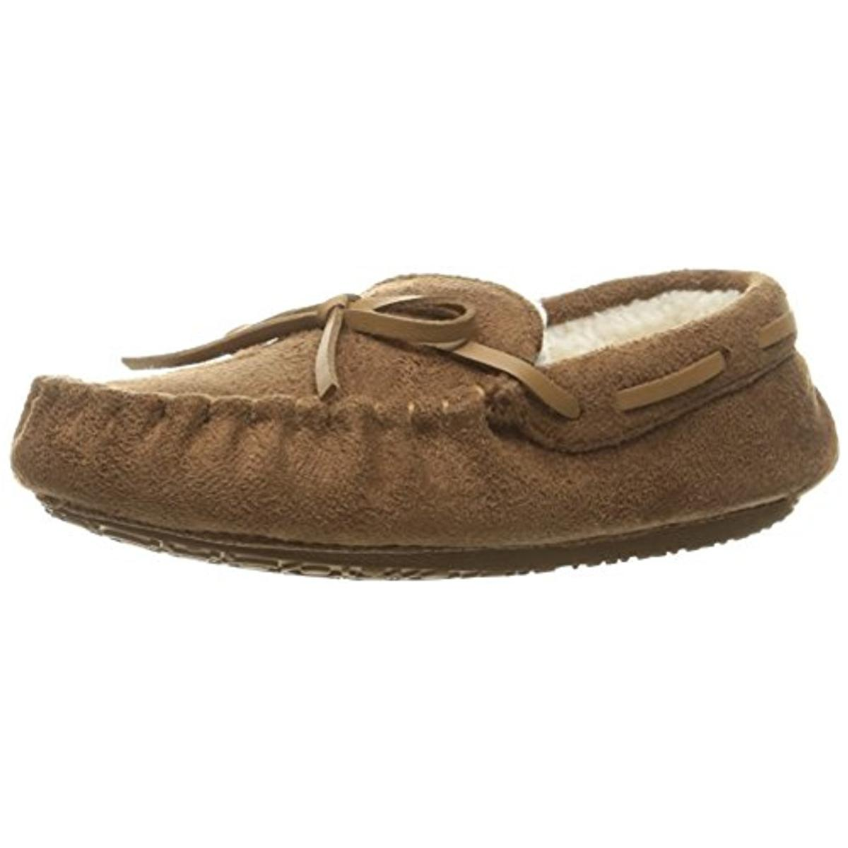 Stride Rite Girls Alex Faux Fur Faux Suede Moccasin Slippers by Stride Rite