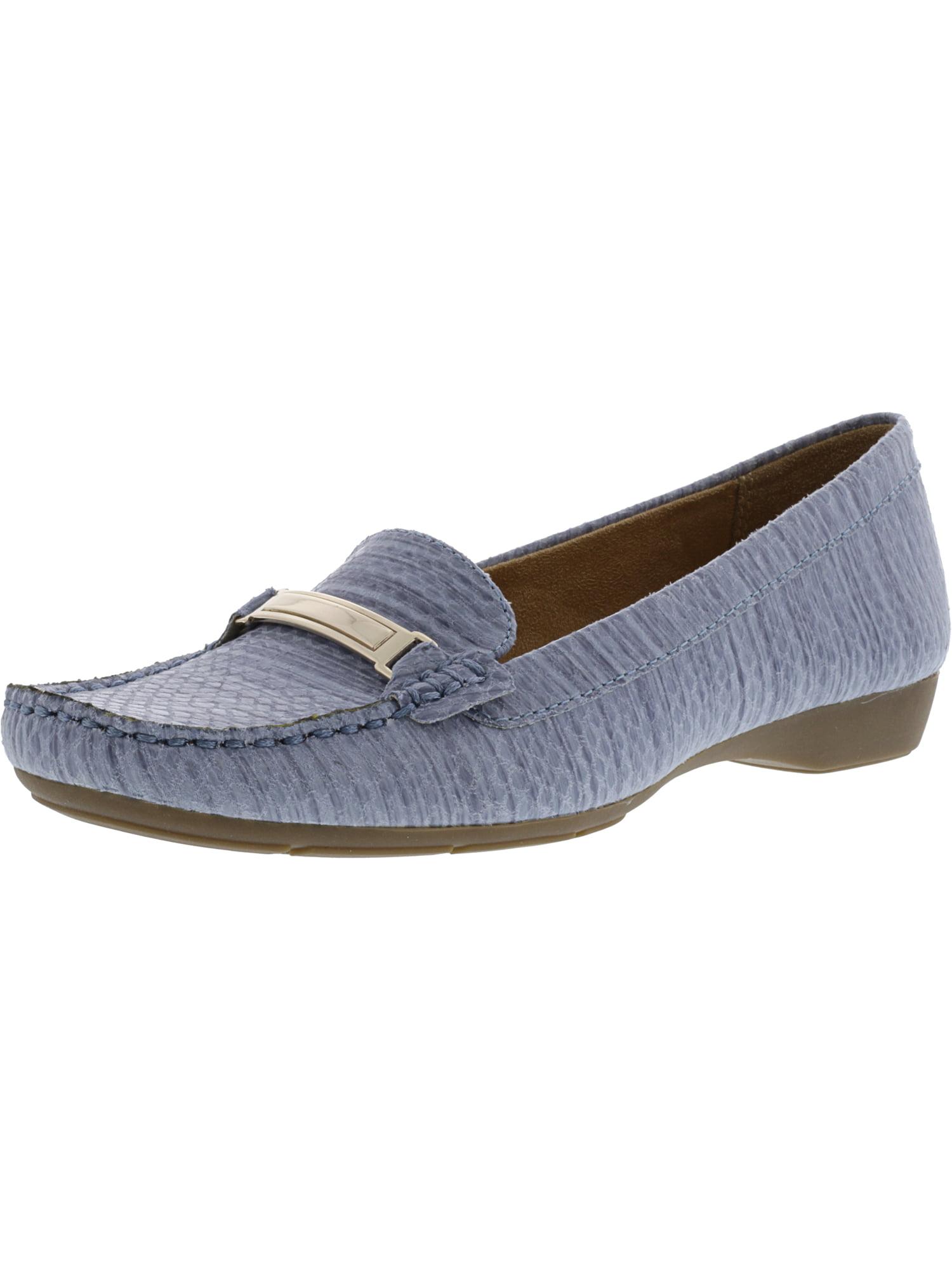 Naturalizer Women's Gadget Fabric Denim Print Slip-On Shoes 6.5M by Naturalizer