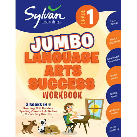 Halloween Books Activities First Grade (1st Grade Jumbo Language Arts Success Workbook : Activities, Exercises, and Tips to Help Catch Up, Keep Up, and Get)