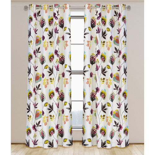LJ Home Curtain Panel (Set of 2)