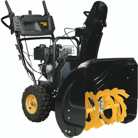 "Poulan Pro 24"" 179cc Dual Stage Gas Engine Snow Thrower"