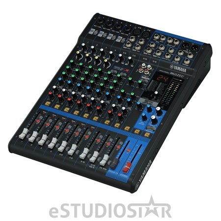 Yamaha (MG12XU) MG12XU | 12-Channel USB Mixing Console with Built-in SPX Digital Effects