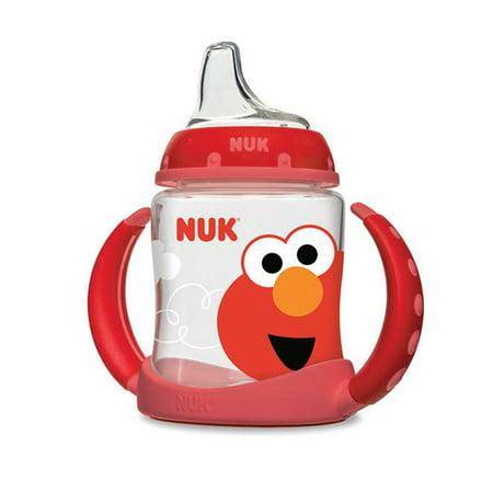 NUK Sesame Street Learner Cup, 5oz (Sesame Street Plastic Cups)