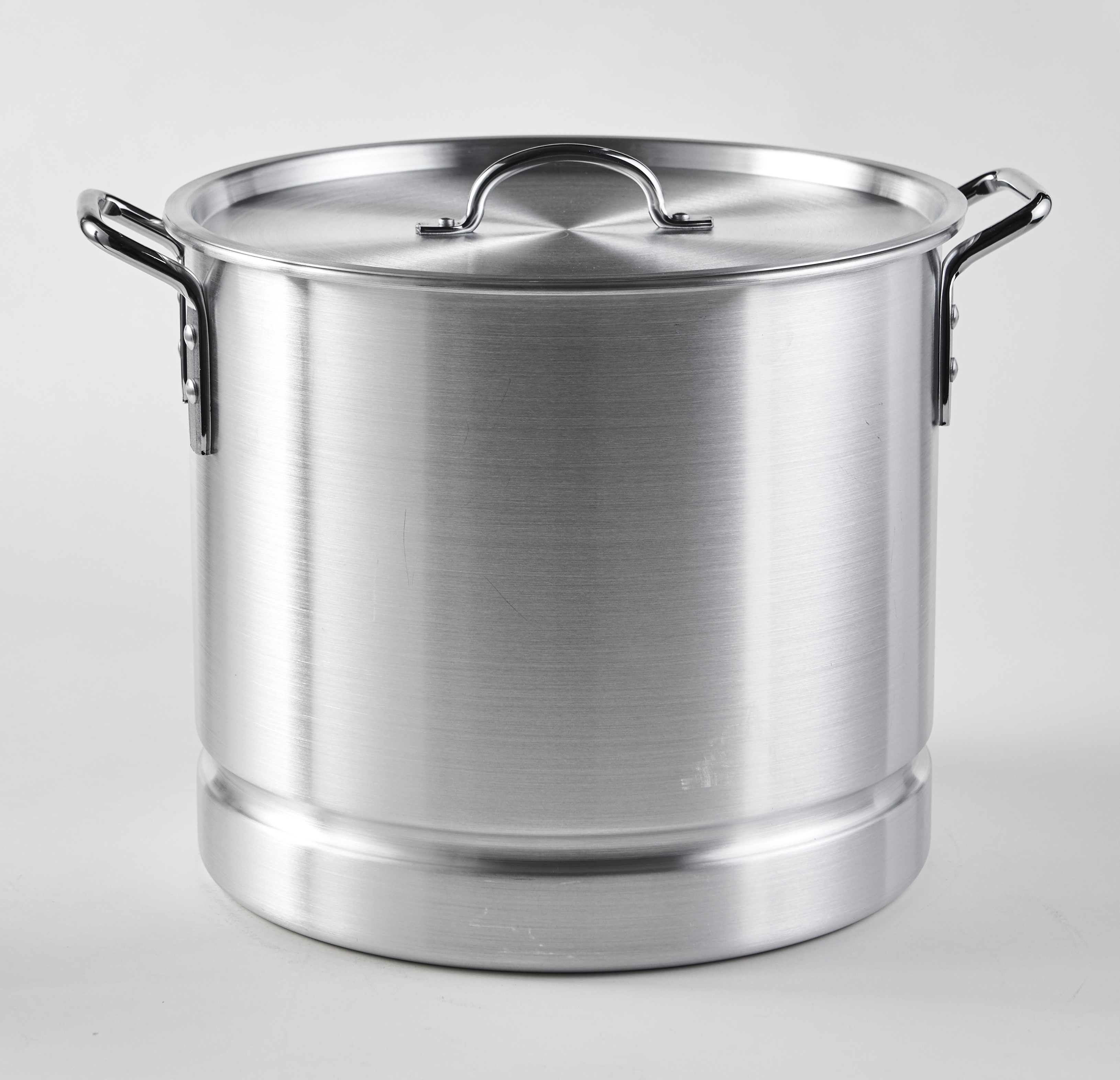 IMUSA USA MEXICANA-34 Aluminum Tamale and Steamer Pot 32-Quart, Silver