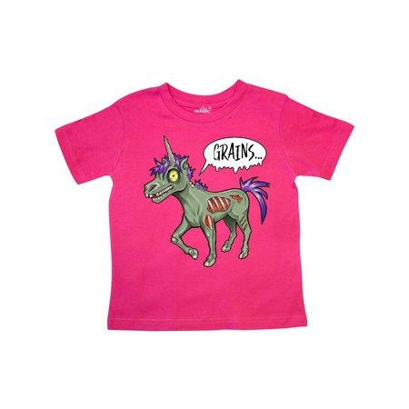 Hot Zombie Girls (Zombie unicorns wants grains- Halloween Toddler)