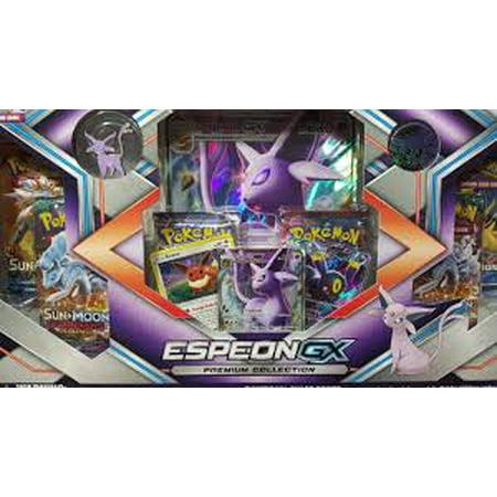 Pokemon Eeveelution Espeon GX Premium Collection Box Trading (Best Gx Pokemon Card)