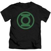 Green Lantern Green Emblem Little Boys Shirt