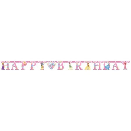 Disney Princess Letter Banner - Disney Cars Birthday Banner