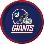 New York Giants Dessert Plates, 8-Pack