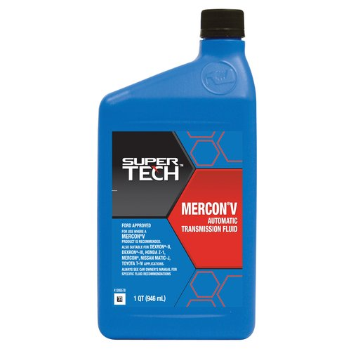 Super Tech MERCON V Automatic Transmission Fluid, 1qt