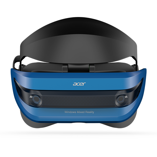 Acer Windows Mixed Reality Headset, Black, 00191114374870