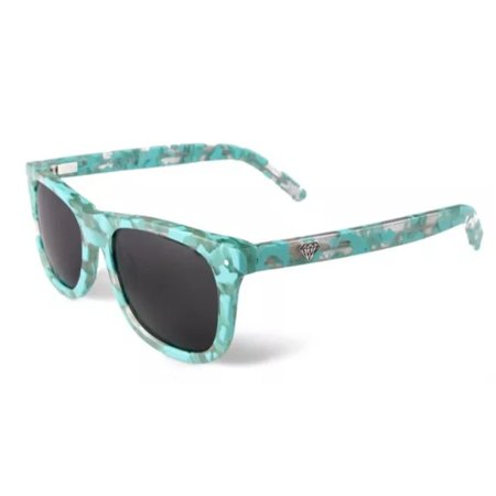 Diamond Supply Co. Men's  Sunglasses One Size  TEAL (camo)  W60](Teal Sunglasses)