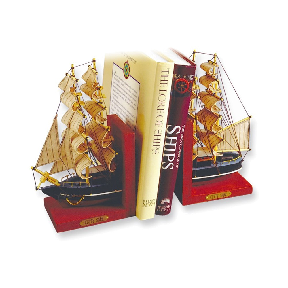 Cutty Wood Sark Bookends by