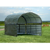 ShelterLogic 12' x 12' Enclosure Kit for Corral Shelter Green