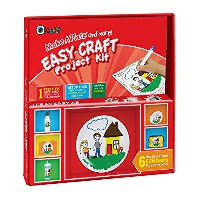 Makit Products Make A Plate And More Easy Craft Project Kit