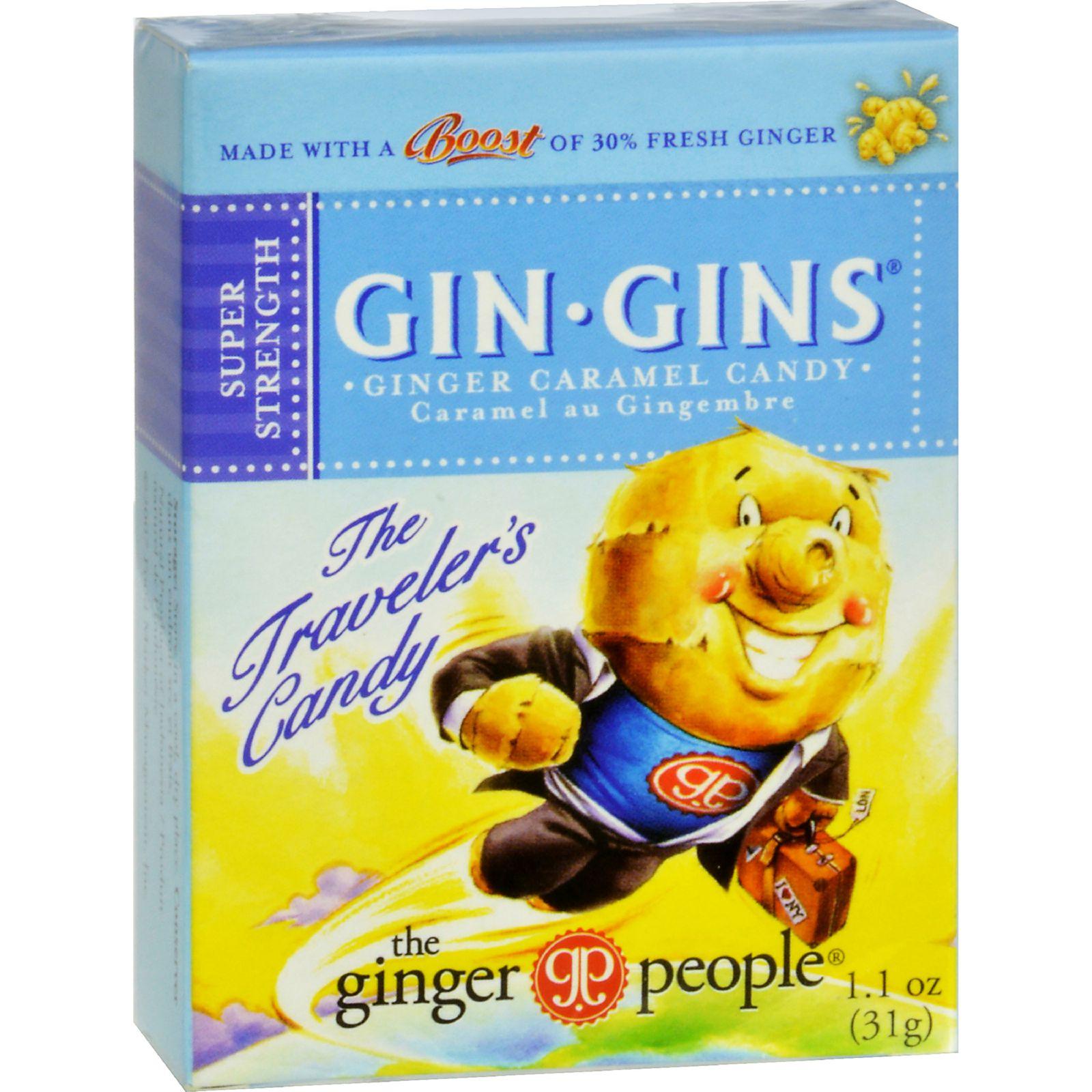 Ginger People Gin Gins Ginger Caramel Candy 1.1 oz - Vegan