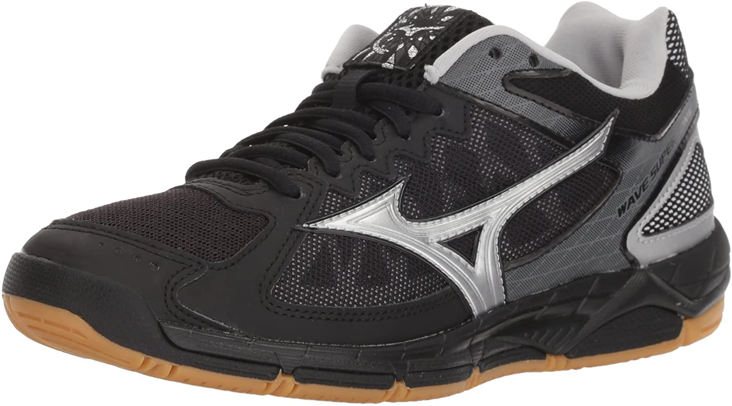 mizuno wave supersonic women's volleyball shoes gold