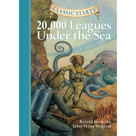 Classic Starts(r) 20,000 Leagues Under the Sea (Hardcover) - Under The Sea Font