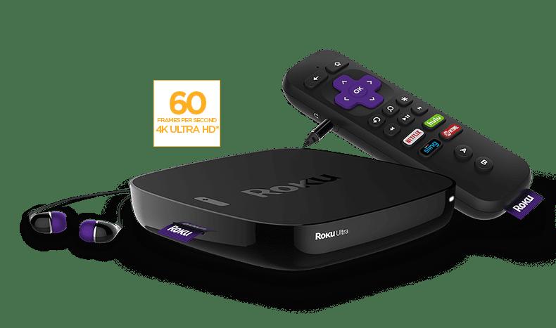 Roku Ultra 4K Streaming Media Player w HDR 4640R (2016 Model) by Roku
