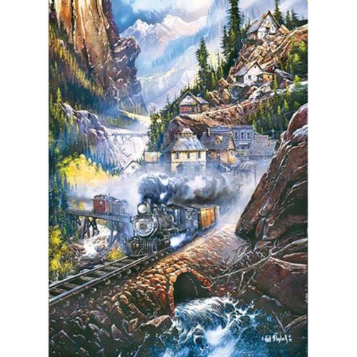 Masterpieces Puzzle Co Silver Belle Run Jigsaw Puzzle