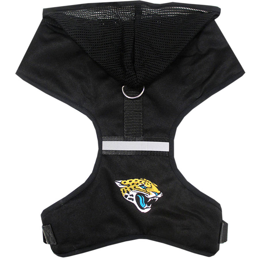 Pets First NFL Jacksonville Jaguars Pet Harness, 3 Sizes Available