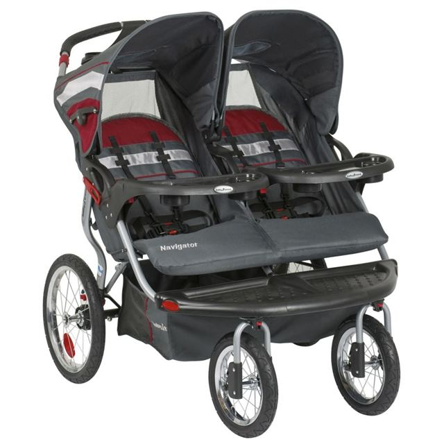 Baby Trend Navigator Double Jogger Baltic by Baby Trend