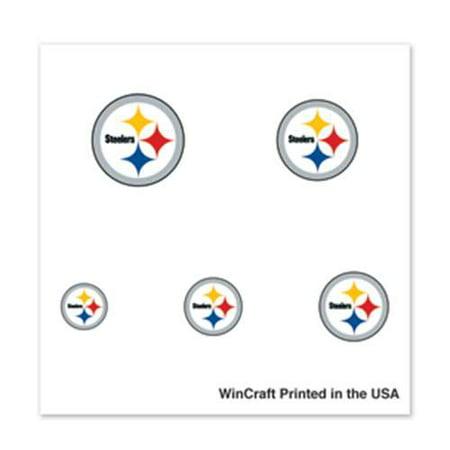 Pittsburgh Steelers Fingernail Tattoos - 4 Pack