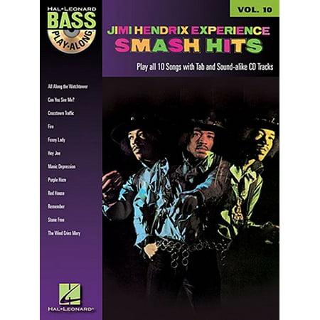 Jimi Hendrix - Smash Hits : Bass Play-Along Volume - Jimi Hendrix Halloween Costume