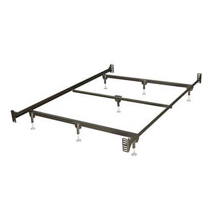Bbf23wb Bolt Up Steel Big   Tall Waterbed Frame  Full