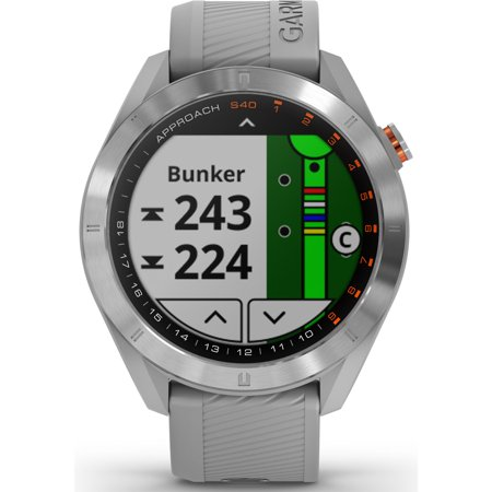 Garmin Garmin Approach S40 GPS Golf Smartwatch in Gray