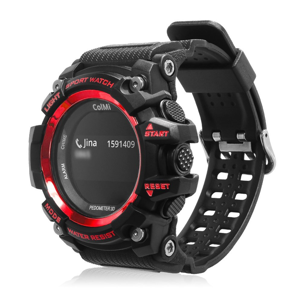 ColMi T1 Smart Watch OLED Display Heart Rate Monitor Message Call Reminder