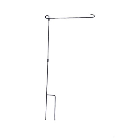 Solid Garden Flag Stand Three Piece in-Ground Metal Construction | Perfect Flag Holder for 12