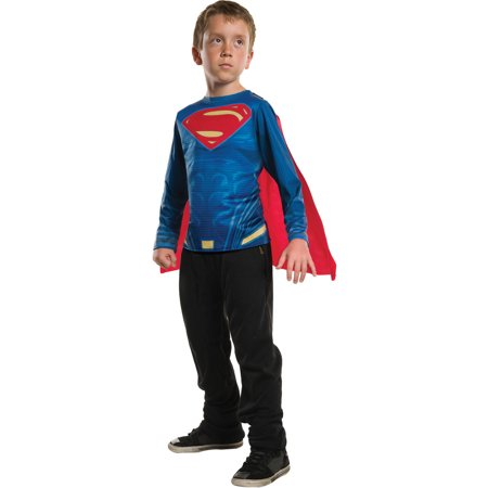 Superman Child Top Child Halloween Costume - Diy Superman Halloween Costume
