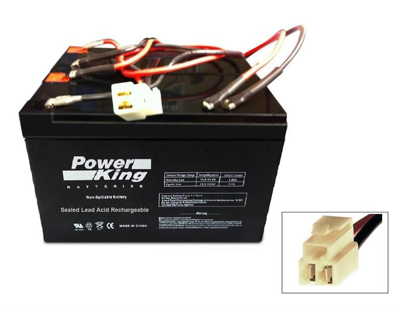 Interstate Batteries Power Patrol Lead Acid Battery 12V 7Ah Replacement Beiter DC Power