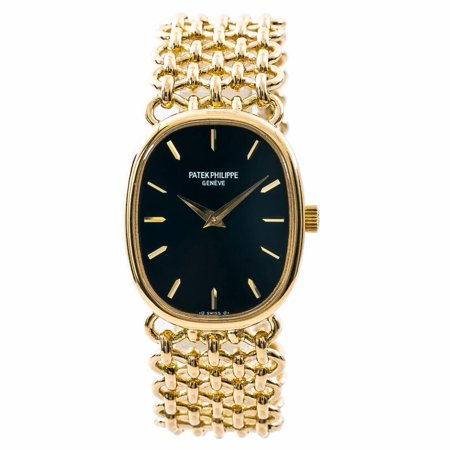 Pre-Owned Patek Philippe Lady Ellipse 4226 Gold Women Watch (Certified Authentic & - Patek Philippe Ladies