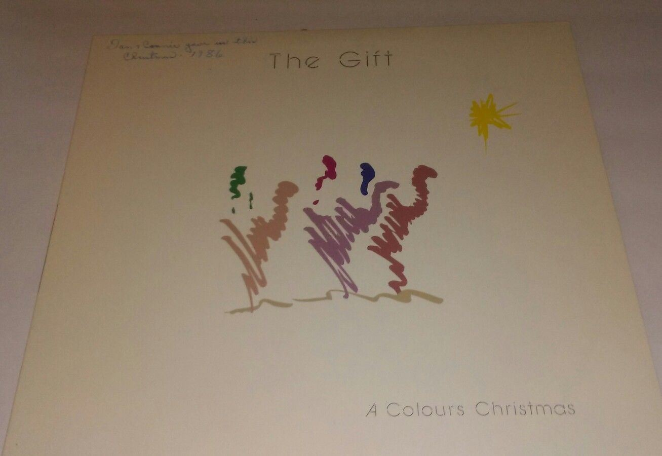 ~VINTAGE~HARD TO FIND~The Gift~ A Colour Christmas Vinyl Record