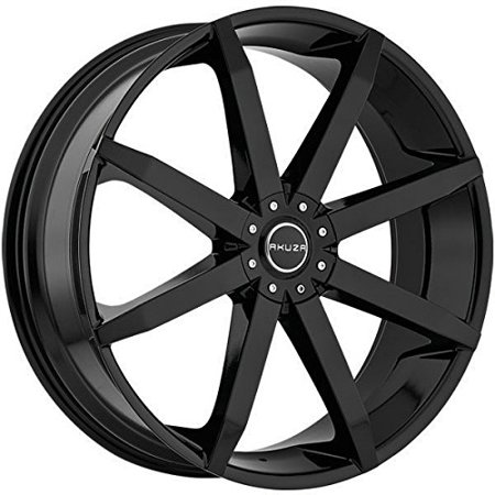Akuza Zenith 18 Black Wheel / Rim 5x115 & 5x120 with a 35mm Offset and a 74.1 Hub Bore. Partnumber