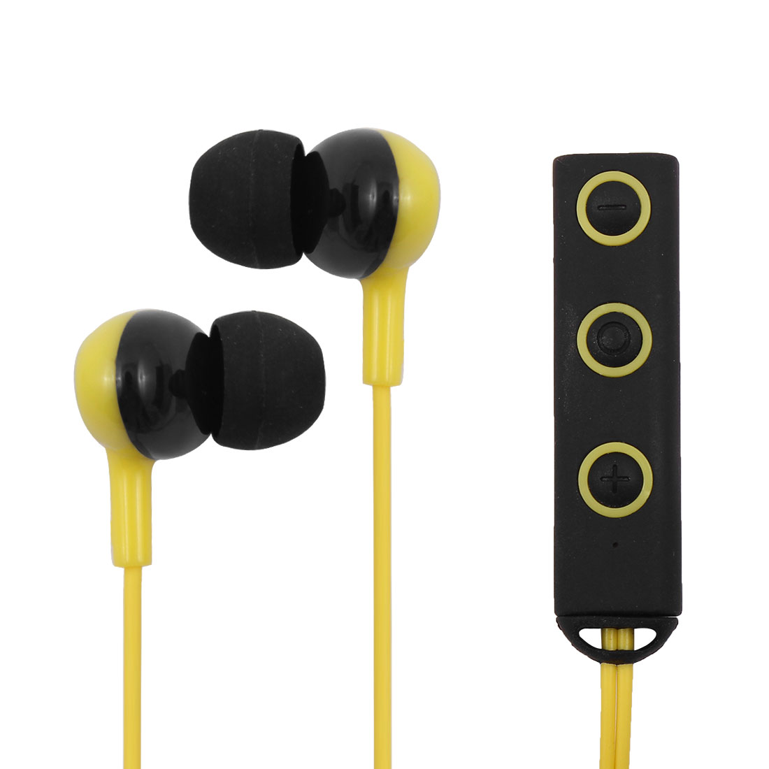 Sports Wireless V4.1 Magnetic Earbuds Stereo Headset bluetooth Earphones Yellow