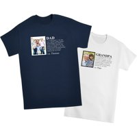 Personalized Definition Photo Tshirt - Navy - L